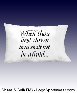Proverbs 3:24 Pillow Cases! Design Zoom